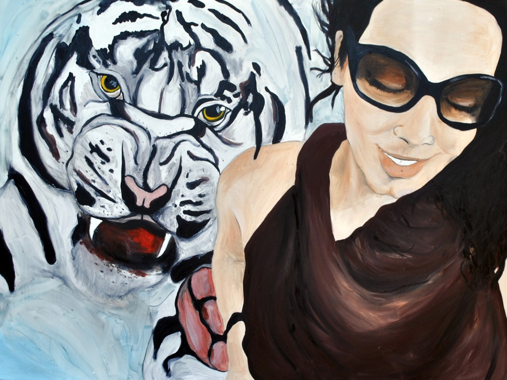 Rita and the Tiger from Transitions, 2015 Rita Bolla