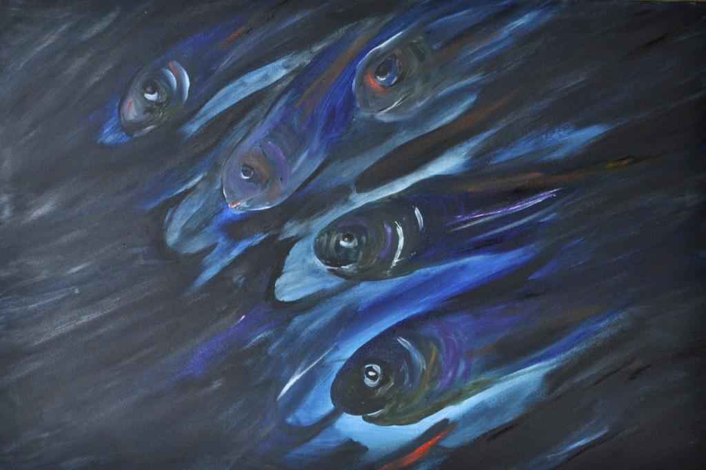 Sardines from The Vegan Project, 2014 Rita Bolla