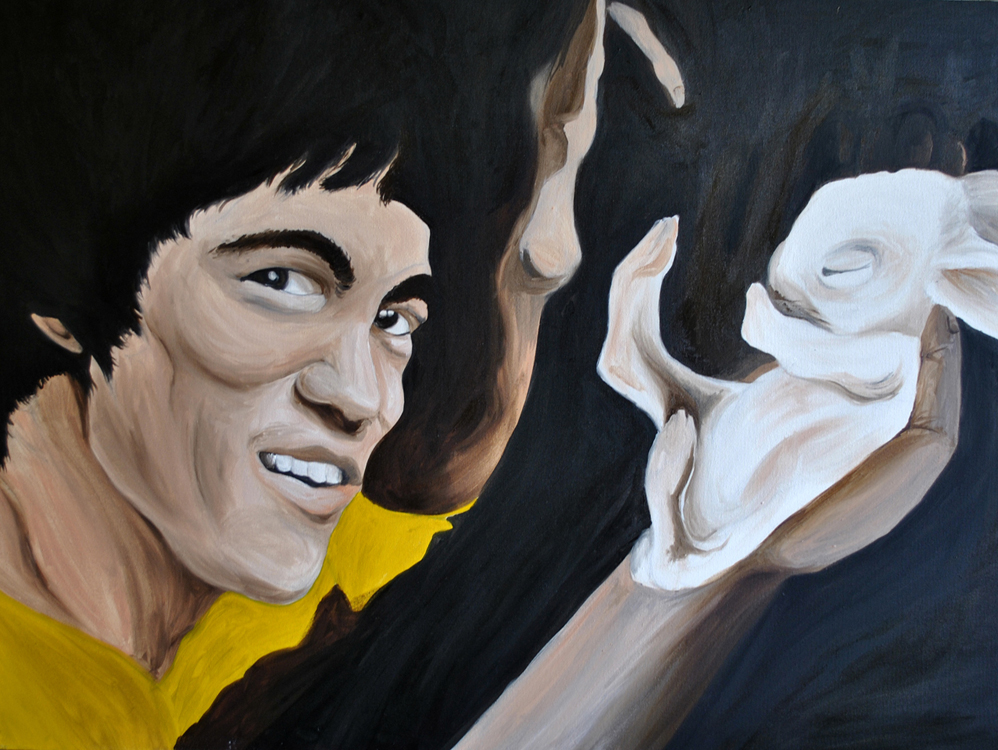Bruce Lee and the Bunny from Transitions, 2015 Rita Bolla