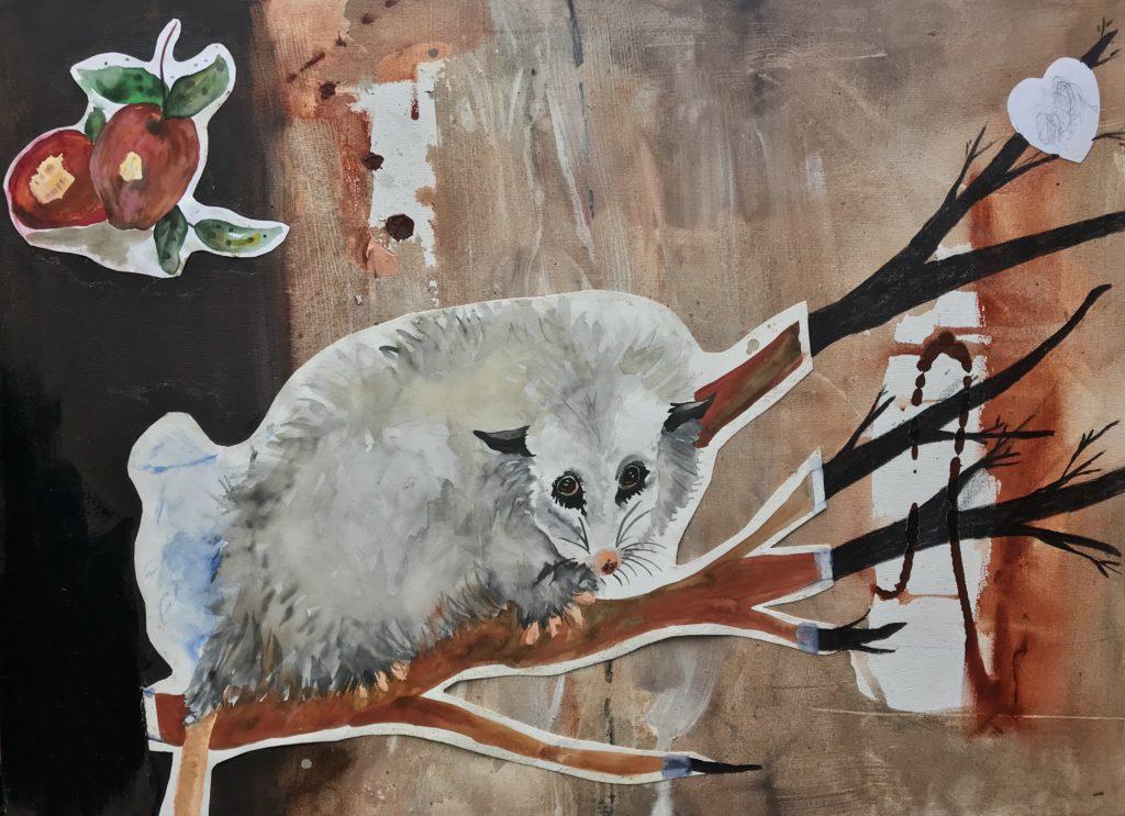 Oposszum from Animal Kingdom, 2019 Rita Bolla