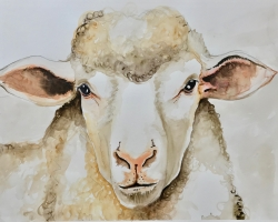 The Vegan Project 2019 watercolors on paper 11x24 inches $350