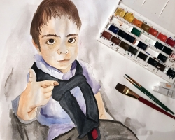 Joaquin (watercolor)