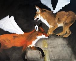 Sound of Silence V. 2016 oil on canvas 36x48 $600
